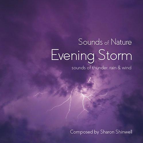 Nature Sounds - Evening Storm