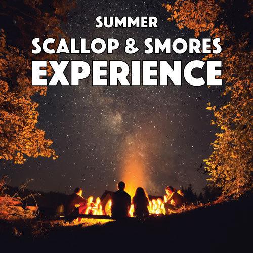 Summer Scallops & Smores