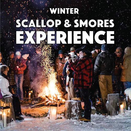 Winter Scallops & Smores