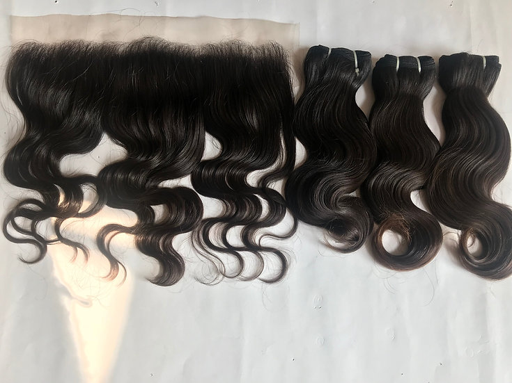 Natural Body Wave Frontal