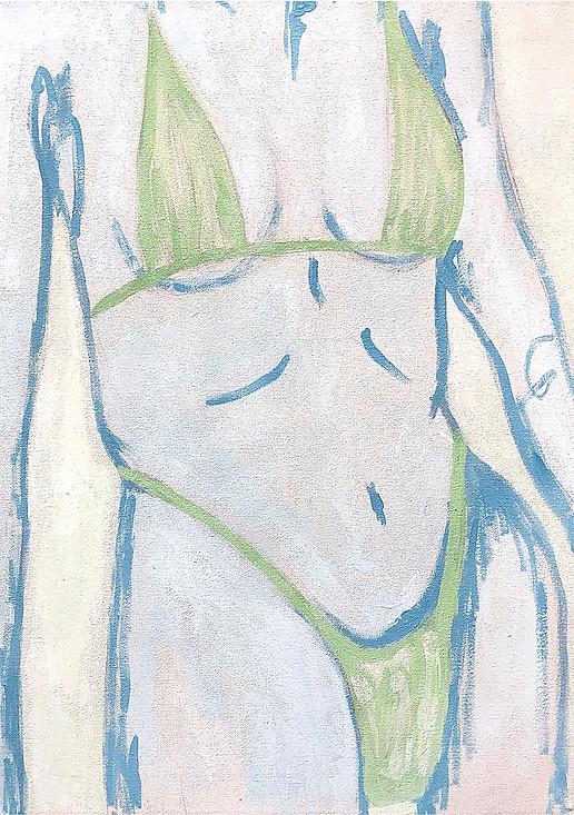 Sage Green Bikini