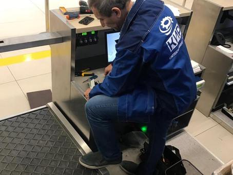 Система самостоятельной сдачи багажа в аэропорте Анапа