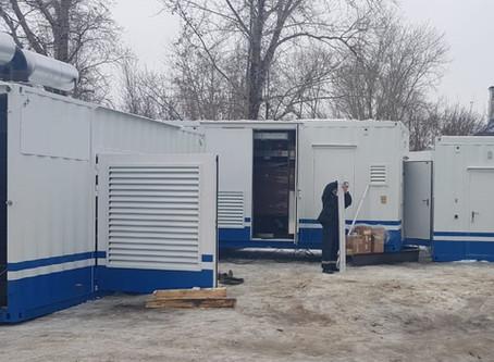 Мобильный энергокомплекс мощностью 10,8 МВт