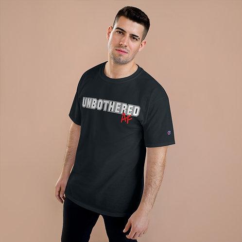 Men's UnbotheredAF Collegiate Short Sleeve Tee Whitewall