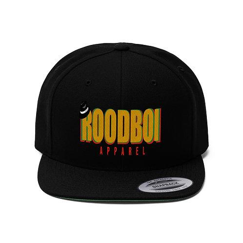 Roodboi Unisex Flat Bill Hat