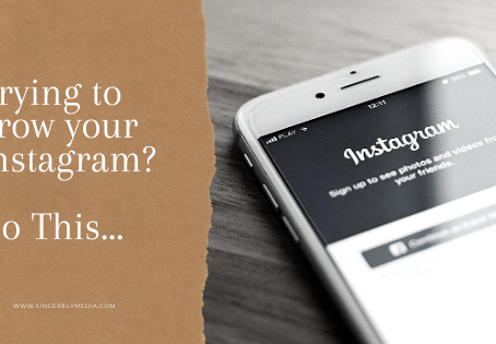 Trying to grow your Instagram? Do This...
