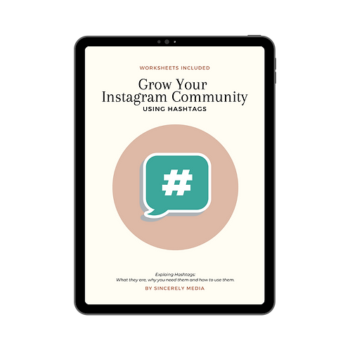 Grow Your Instagram Community Using Hashtags