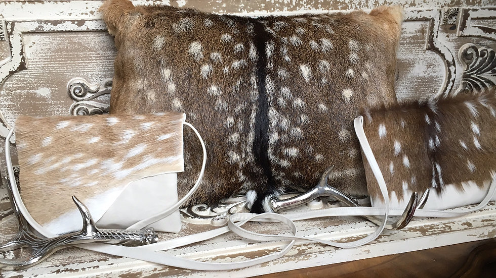 Axis Deer Products- see Light Purse Collection as well