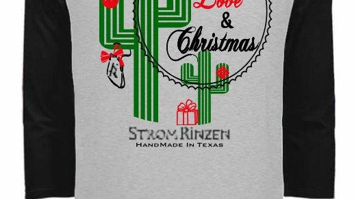 Strom Rinzen Leather, Love & Christmas Tee