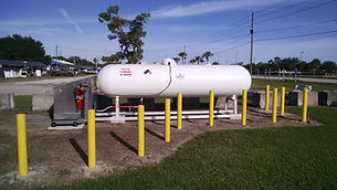 Our Propane filling station