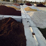 Different Stones, Dirt, and Mulch