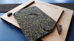 Штамп для вырубки резиновых покрытий