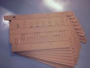 Образец из картона макет макетирование