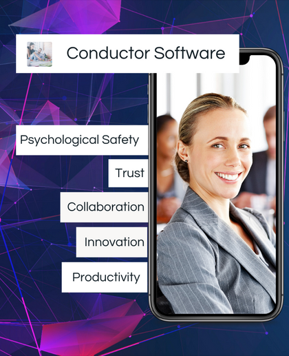 A business woman enjoying Psychological Safety within the workplace