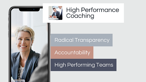 BravaTrak develops high performance coaching within organisations fast and provides radical transparency and develops accountability and high performing teams within organisations