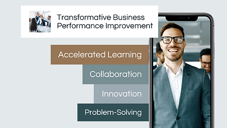 FutureView Virtul World Rehearsals for transformative business performance improvement by accelerating learning, collaboration, innovation and problem-solving