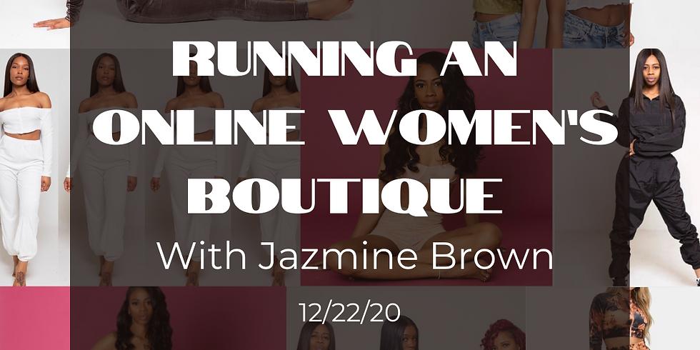 Running an Online Women's Boutique