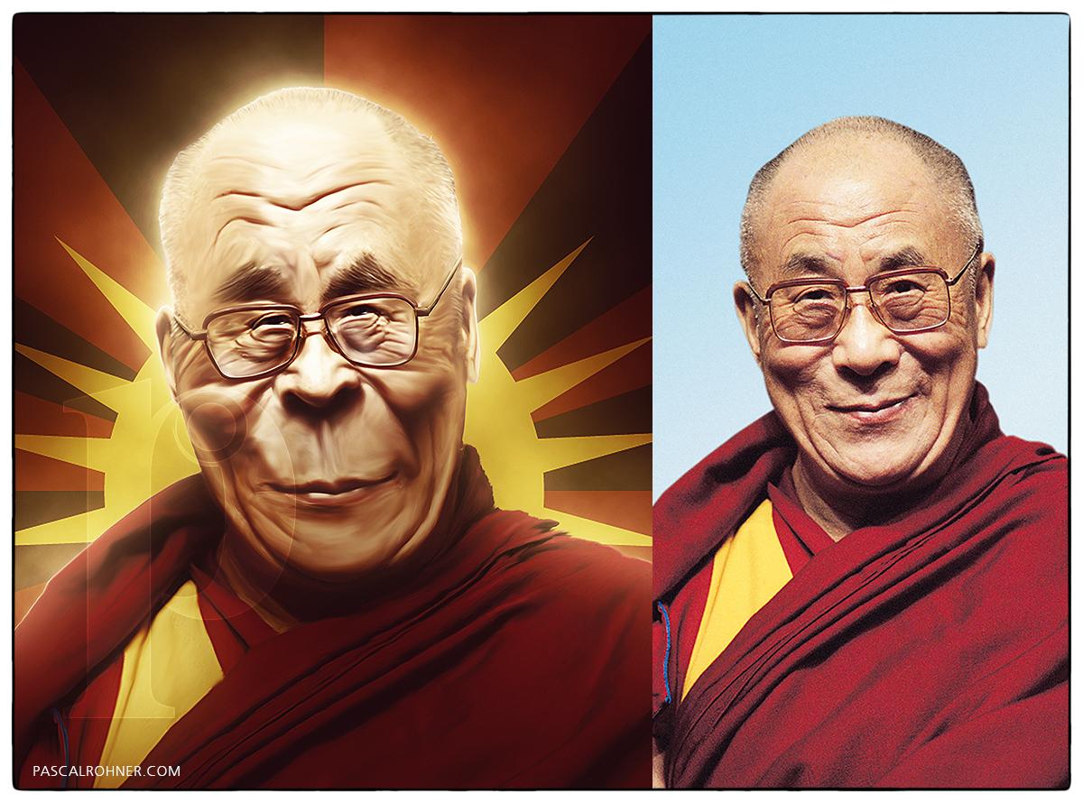 Cartoon – Dalai Lama