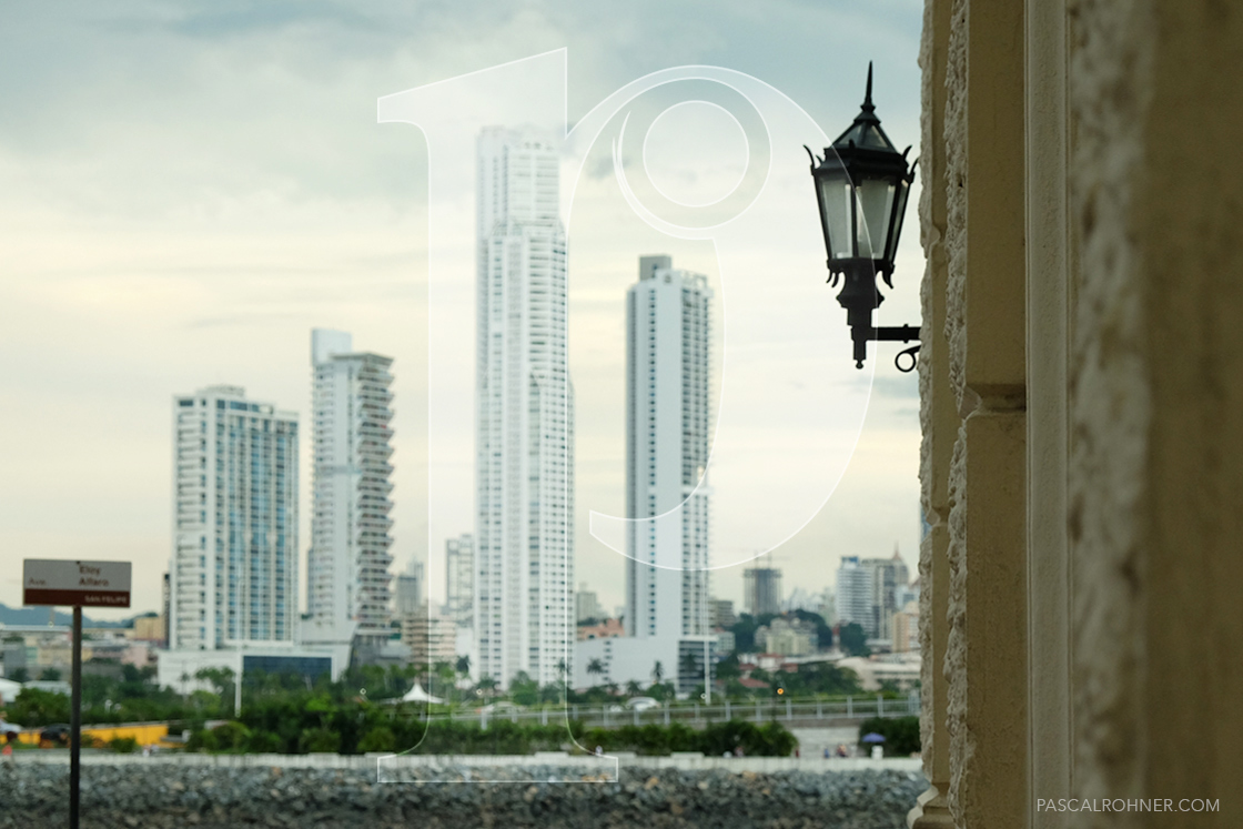 View form Casco Viejo to Panama City