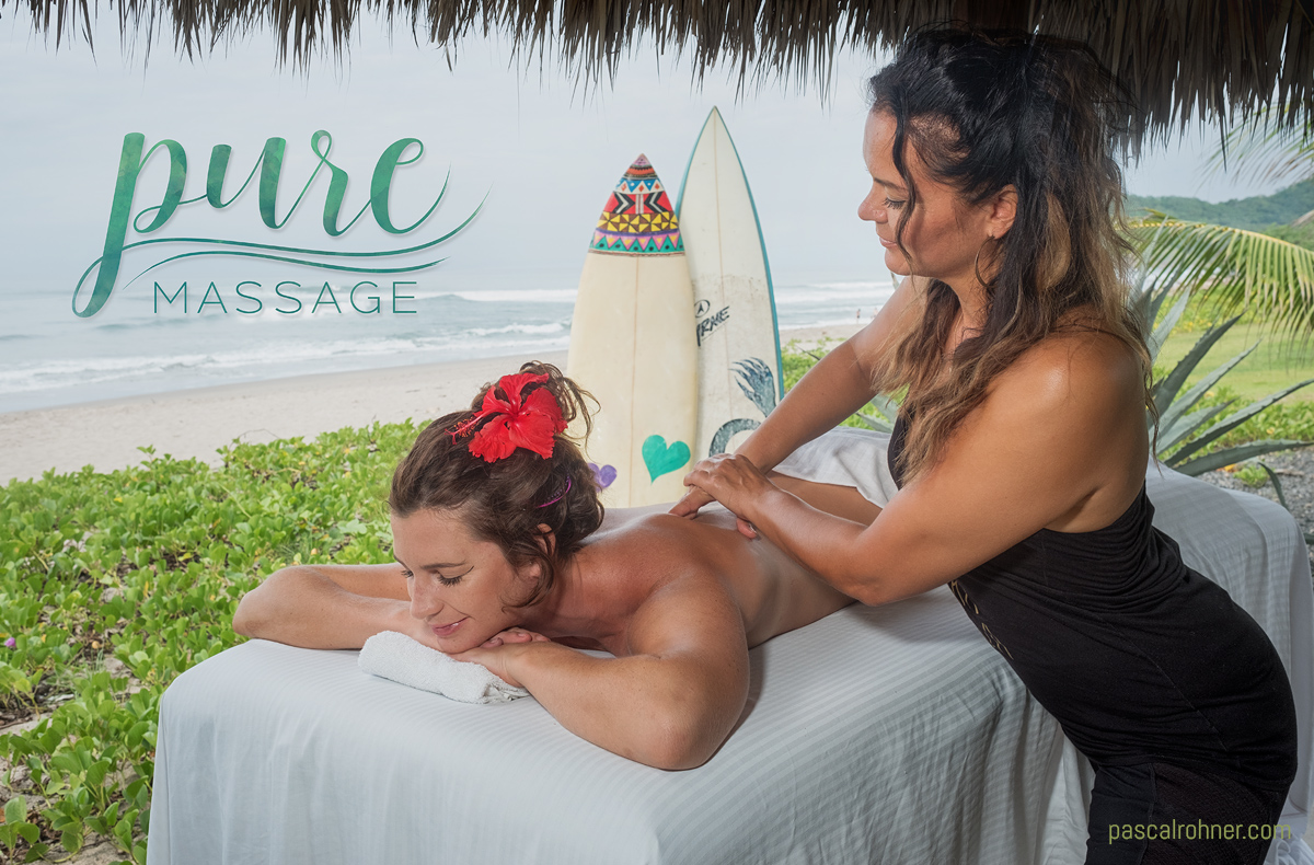 Pure Massage at the beach