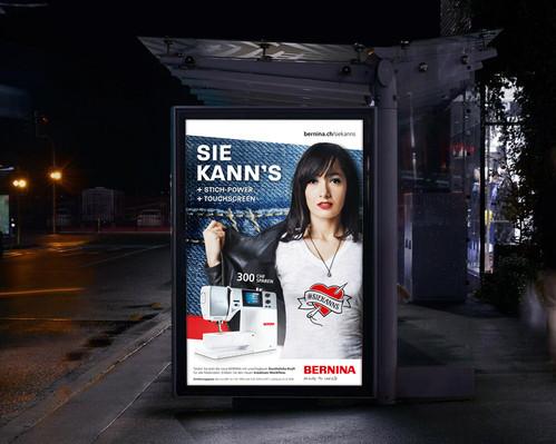 Bernina –Sie kann's