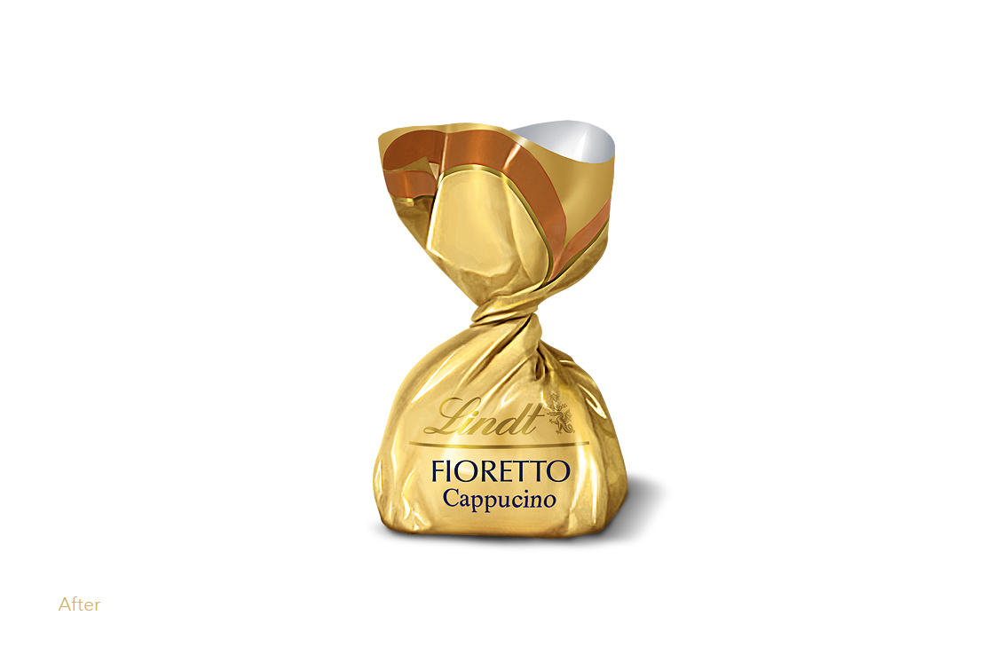 Lindt Chocolate - ready to advertise