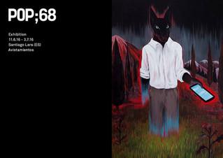 AVISTAMIENTOS                                    Solo exhibition - POP;68 (Project space by Ruttkows