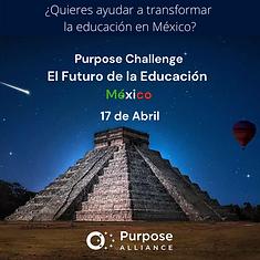 Poster Futuro de la educación LinkedIn