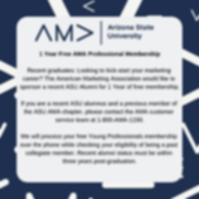 1 Year Free AMA Professional Membership