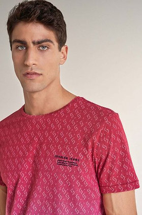 SALSA T-shirt à effet dégradé Rouge 124692