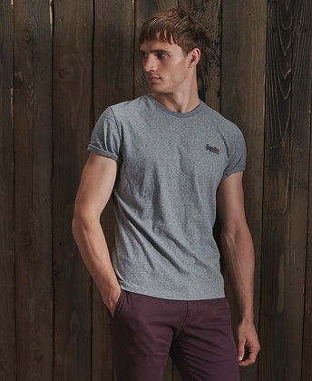 SUPERDRY T-shirt EMB tee basic col rond