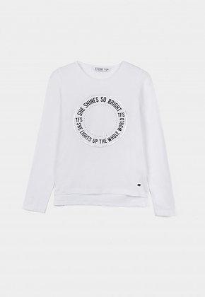 TIFFOSI  True t-shirt blanc logo