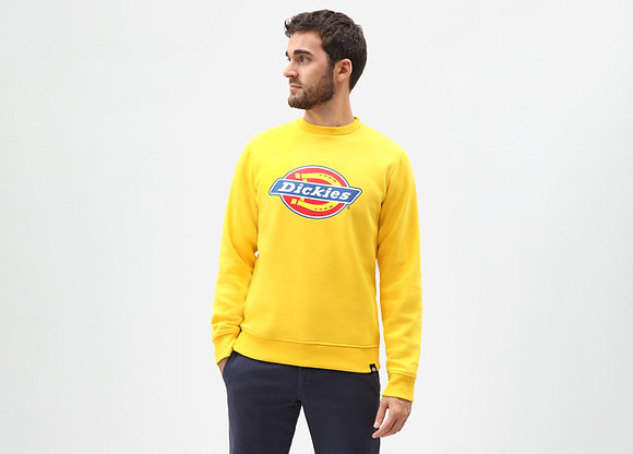 DICKIES sweat col rond Pittsburg jaune