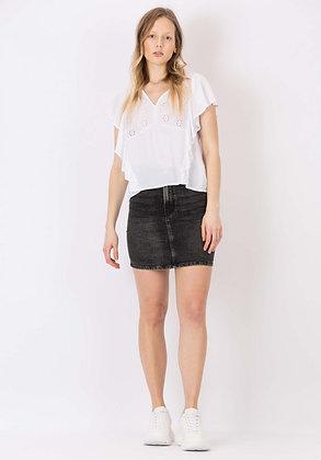 TIFFOSI Jupe en jeans noir Muna 12