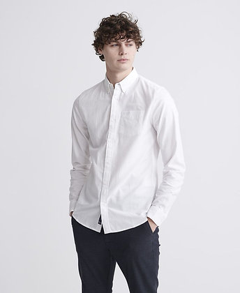 SUPERDRY ChemiseOxford Blanche