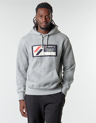 SUPERDRY Sweat à capuche SPORT JOCK TAG