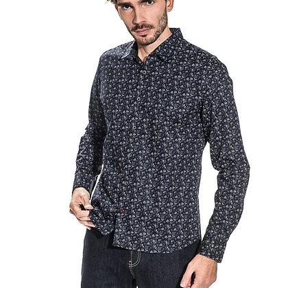 CIBLE ROUGE chemise Capri slim