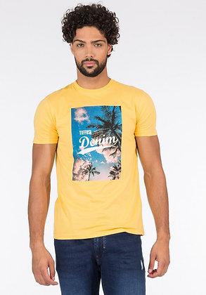 TIFFOSI T.Shirt jaune Bern