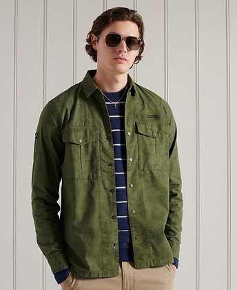 SUPERDRY Chemise Field 2 poches type army