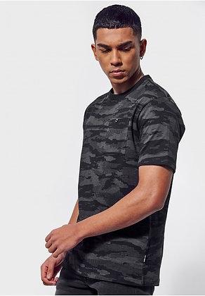 KAPORAL T-shirt régular Drone camouflage noir