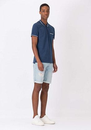 TIFFOSI Wembley Short en jeans coupe droite
