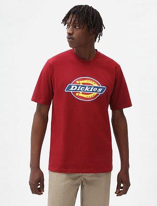 DICKIES T-Shirt Icon Logo Biking Red