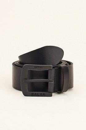 SALSA ceinture cuir noir 113284