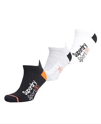SUPERDRY Coolmax Ankle Sock 3 Pack
