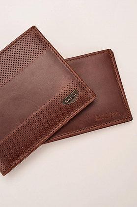 SALSA portefeuille cuir marron