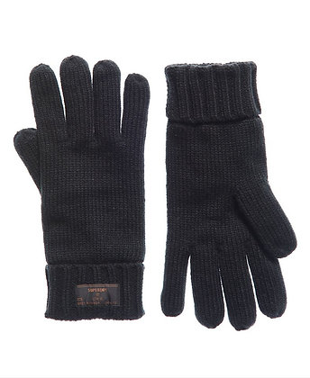SUPERDRY gants Stokholm Noir