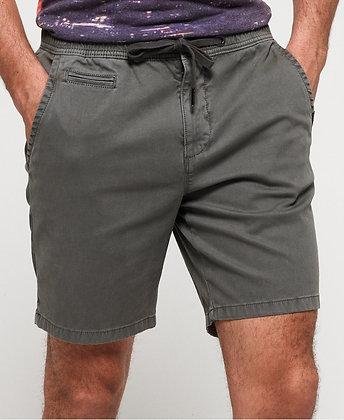 SUPERDRY Short sunscorched gris Délavé