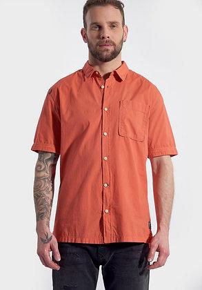 KAPORAL Chemise à manches courtes, coupe droite Woone Hibisc