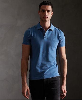 SUPERDRY Polo Organic Cotton Vintage Destroyed