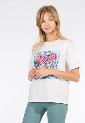 TIFFOSI T.shirt Damasco blanc